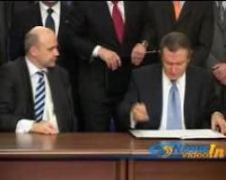 Contractul pentru autostrada Comarnic-Brasov a fost semnat