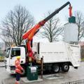 O noua macara Palfinger pentru activitatile de reciclare Palfinger
