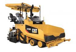 Caterpillar lanseaza un nou finisor de asfalt