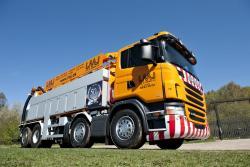 Primele vehicule municipale Scania cu motoare Euro 6