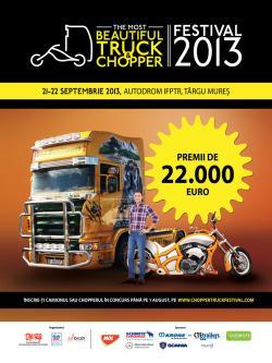 THE MOST BEAUTIFUL TRUCK&CHOPPER FESTIVAL 2013