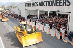 Ritchie Bros a organizat o licitatie in Spania