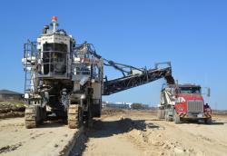 Freze miniere folosite la constructia de drumuri