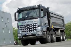 Mercedes-Benz Euro VI Truck Roadshow a ajuns si in Romania