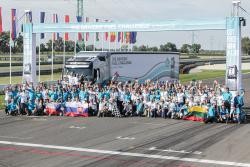 La finala regionala din Europa Centrala si de Est a fost desemnat castigatorul competitiei The Drivers` Fuel Challenge organizata de Volvo Trucks