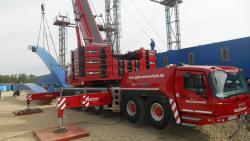 Lucrare in Germania pentru a 50-a macara Grove GMK6400