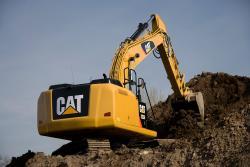 Cat Grade Control, in standard pe excavatorul hidraulic 323E L