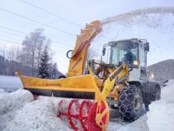 Sfaturi practice pentru pregatirea incarcatoarelor frontale pe pneuri pentru iarna