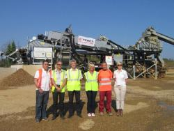 Nou model TEREX AGGWASH