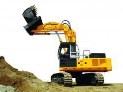 R800-7A FS, primul excavator Hyundai cu cupă frontală