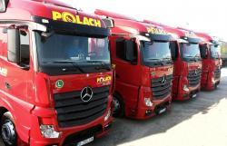 Polach Logistics & Transport isi extinde flota cu 15 camioane Mercedes-Benz Actros