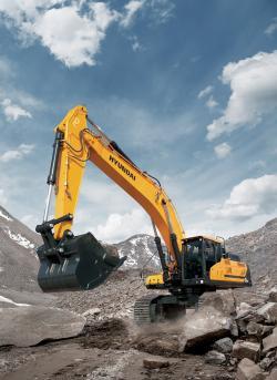Hyundai CE a reproiectat cabinele excavatoarelor HX si incarcatoarelor frontale HL