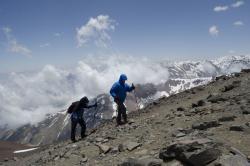 Alpinistul Marius Gane a escaladat in premiera romaneasca doua varfuri din Anzii Cordilieri