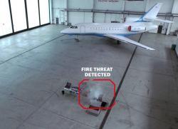 Bosch prezinta sistemul video AVIOTEC de detectie a incendiilor
