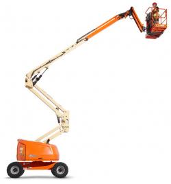Made in Romania: Prima nacela JLG 520AJ, achizitionata de Industrial Access