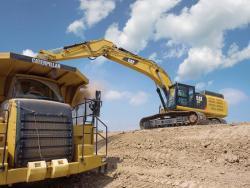 Excavatorul CAT 352F L XE randament energetic si performate maxime oferite de o tehnologie avansata