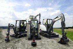 Premiera mondiala: sase noi Mini-excavatoare XL de la Terex
