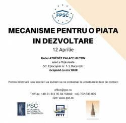 Un nou eveniment marca FPSC - Mecanisme pentru o piata in dezvoltare