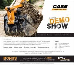 Titan Machinery isi invita partenerii la Demo Show Oradea – 15 iunie 2016