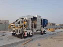 Hiarom Invest a livrat un utilaj Appitrack de a doua generatie in Qatar