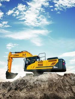 Hyundai Heavy Industries isi completeaza gama cu noul excavator pe senile HX380 L