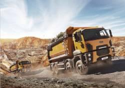 Camioanele Ford Trucks din seria constructii dau dovada de adevarata putere