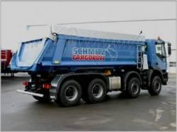 Otelul folosit in benele Schimtz Cargobull