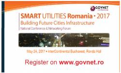 Smart Utilities Romania 2017 – Building Future Cities Infrastructure