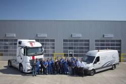 Mercedes-Benz Bucuresti lanseaza serviciul de vopsitorie dedicat vehiculelor comerciale grele