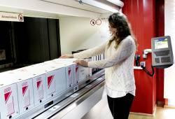 Elmas a dezvoltat o solutie de arhivare pe spatii reduse