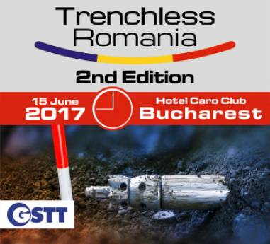 7 DAYS UNTIL THE BIG TRENCHLESS EVENT!!! Trenchless Romania Conference & Exhibition - 15 Iunie 2017, Hotel Caro Club, Bucuresti