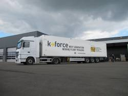 K-Force, the next generation moving floor trailers