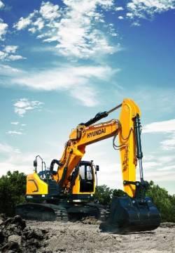 Hyundai Construction Equipment ofera ca optiune bratul principal din doua bucati, pentru excavatoarele pe roti si pe senile de la 14 la 30 de tone