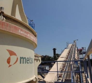 Concasorul cu impact vertical METSO Barmac B7150, rezultate bune in aplicatii dificile