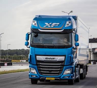 Sub sloganul Excelenta pura, DAF lanseaza noua gama de camioane pe pista autodromului Academiei Titi Aur