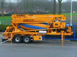 Semiremorci de mixat si transportat beton DEBUF