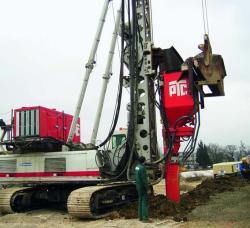 Utilaje  necesare pentru consolidarea terenurilor cu soluri slabe
