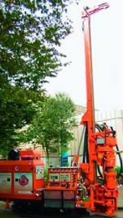 Instalatii de foraj pentru captarea energiei geotermale