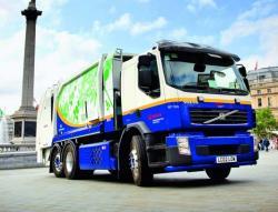 Volvo testează un nou camion hibrid în Londra