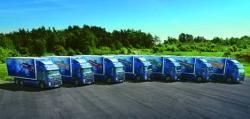 Primul producător care foloseste motoare diesel Euro 5 cu gaz