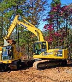 Excavatorul hibrid Komatsu - productie de serie!