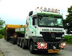 Holleman, un transportator de utilaje de prim rang