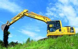 Komatsu lanseaza noul excavator pe senile PC190-8