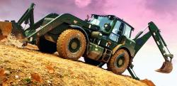 Buldoexcavatoare JCB pentru Armata Suedeza