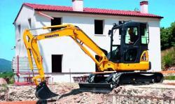 Mini excavatorul PC55MR-3 - mai performant, mai productiv
