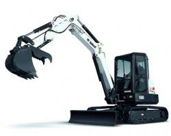 Noul excavator compact E55