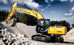 Noul excavator New Holland E215C