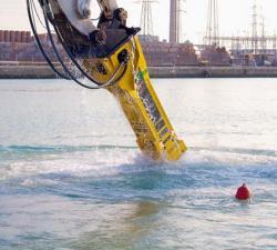 Utilizat în dezvoltarea portuara în Italia