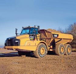 Camioane articulate Caterpillar Seria B