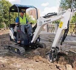 Bobcat îmbunătăţeşte excavatoarele compacte E14 şi E16